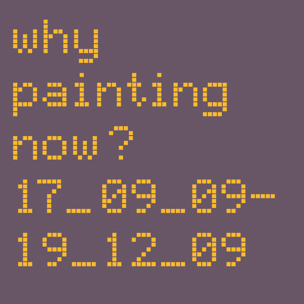 Why painting now? cover